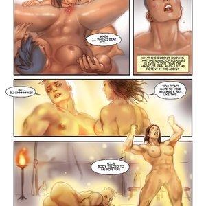 MuscleFan Comics Dueling Divas - Issue 1 gallery image-012