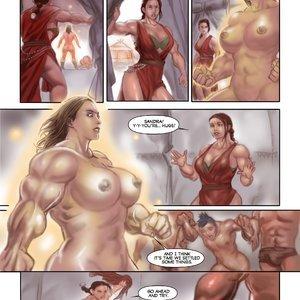 MuscleFan Comics Dueling Divas - Issue 1 gallery image-013