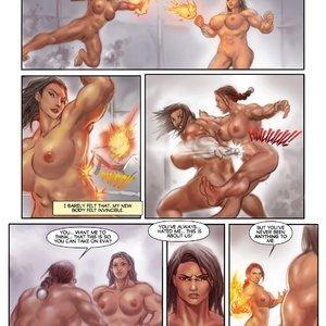 MuscleFan Comics Dueling Divas - Issue 1 gallery image-014