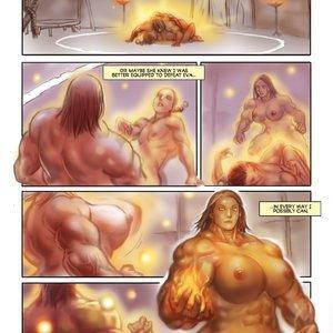MuscleFan Comics Dueling Divas - Issue 1 gallery image-017