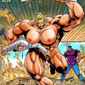 Schooner The Sailor Girl – Issue 2 MuscleFan Comics
