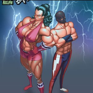 Wrestling Rose – Issue 2 MuscleFan Comics