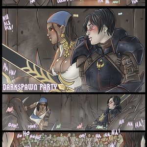 Darkspawn Party Nikraria Comics