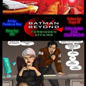 Batman Beyond – Issue 1 Pandoras Box Comics