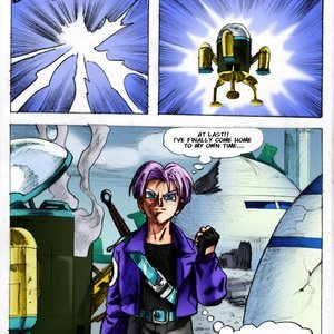 Dragon Ball Z – Time Travel Pandoras Box Comics