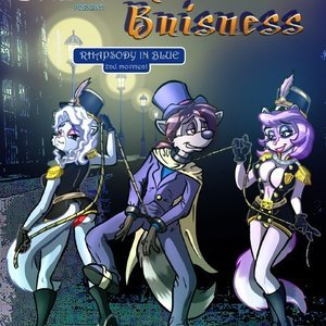 Raccoon Business 3 PleasureBonBon Comics