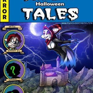 Scarlett Halloween Tales PleasureBonBon Comics