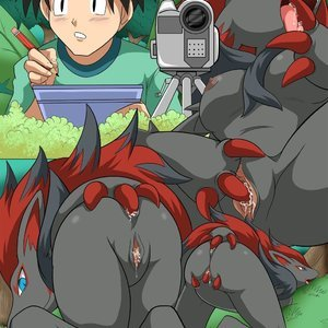 PokepornLive Comics Watching Unova gallery image-003
