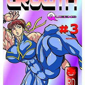 Growth Queens – Issue 3 Reddyheart Comics