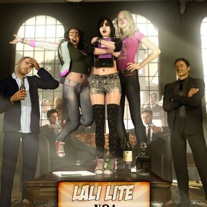 Lali Lite – Issue 1- The Gentlemens Club Renderotica Comics