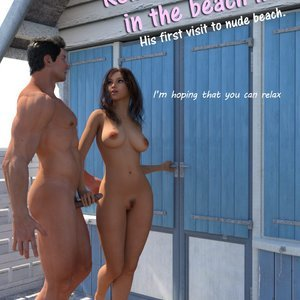 Relaxing Time In The Beach Hut Renderotica Comics