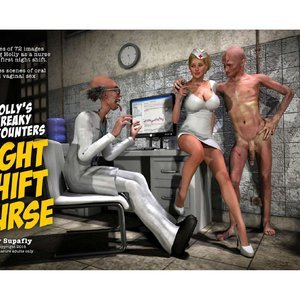 Hollys Freaky Encounters – Night Shift Nurse Renderotica Comics
