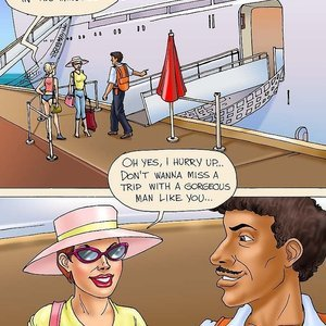 Going Crazy on a Cruise (Seduced Amanda Comics) thumbnail