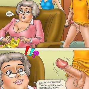 Seduced Amanda Comics Grandma Memories gallery image-008