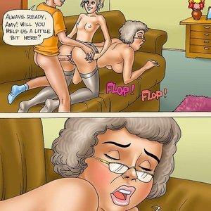 Seduced Amanda Comics Grandma Memories gallery image-011