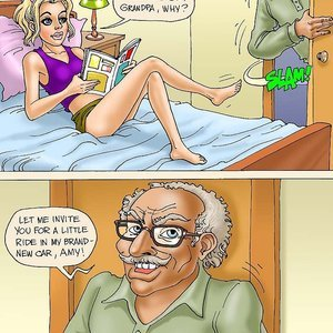 Seduced Amanda Comics Grandpa and His New Ride gallery image-001