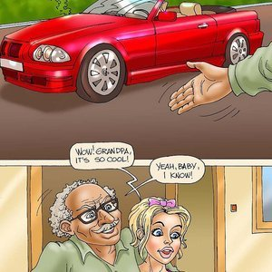 Seduced Amanda Comics Grandpa and His New Ride gallery image-002