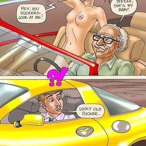 Seduced Amanda Comics Grandpa and His New Ride gallery image-005