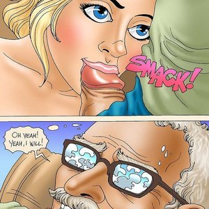 Seduced Amanda Comics Grandpa and His New Ride gallery image-012