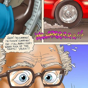 Seduced Amanda Comics Grandpa and His New Ride gallery image-014