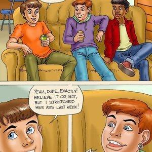 My Brother and his Friends (Seduced Amanda Comics) thumbnail