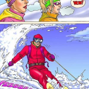 Seduced Amanda Comics Sexy Skiing gallery image-003