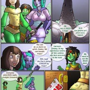 Tower of Traps Shia Comics