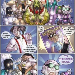 World of Warcraft – A Warcraftian Bachelor Party Shia Comics