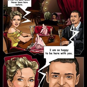 Scarlet Johansson and Justin Timberlake SinFulComics Collection