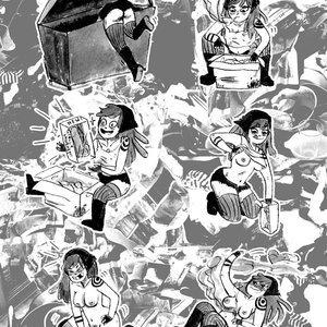 Slipshine Comics Hot Dog Comix gallery image-008