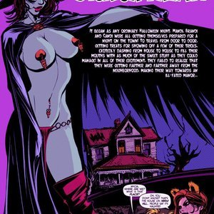 Dick or Treat Sluttish Comics