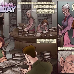 Ginnys Week Monday Sluttish Comics