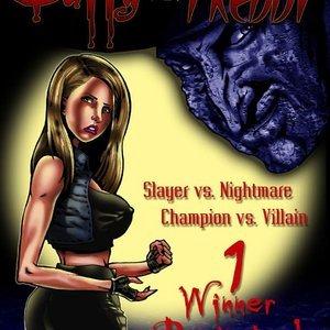 Buffy vs Freddy Smudge Comics