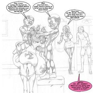 Smudge Comics Black Cock Slave gallery image-003