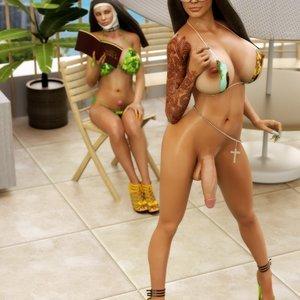 Sinners and Holy Women (SodomSluts Comics) thumbnail