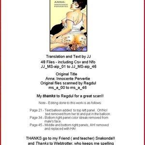 Anna Perverted Innocence Stramaglia Morale Comics