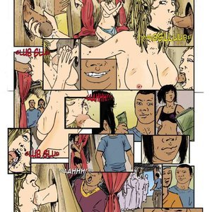 StrapAndStrip - Pervish Comics Maison Des Esclaves - Issue 5 gallery image-008