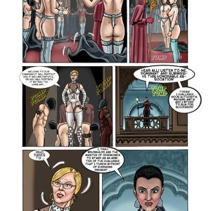 StrapAndStrip - Pervish Comics Mistress Slave - Issue 1 gallery image-005
