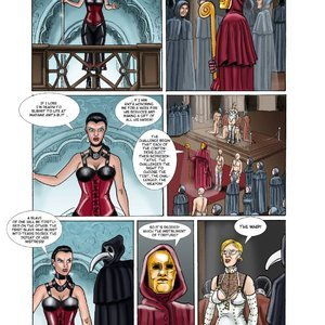 StrapAndStrip - Pervish Comics Mistress Slave - Issue 1 gallery image-006