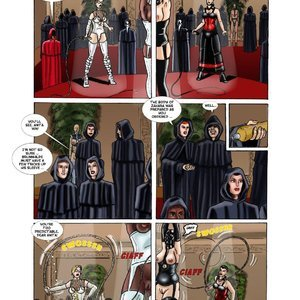 StrapAndStrip - Pervish Comics Mistress Slave - Issue 1 gallery image-009