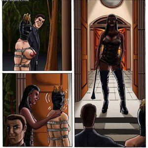 StrapAndStrip - Pervish Comics Mistress Slave - Issue 1 gallery image-024