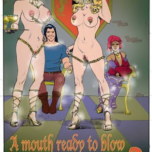 Princess Mouth Ready to Blow – Issue 2 StrapAndStrip – Pervish Comics