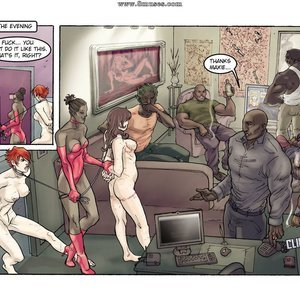 StrapAndStrip - Pervish Comics Underworld - Issue 2 gallery image-040