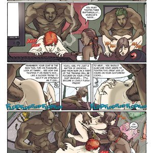 StrapAndStrip - Pervish Comics Underworld - Issue 2 gallery image-049