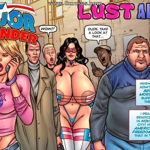Lust Alley SuperHeroineComixxx