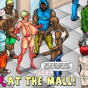 Sex at the Mall SuperHeroineComixxx