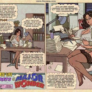 The Private Life and Secrets of Major Wonder (SuperHeroineComixxx) thumbnail