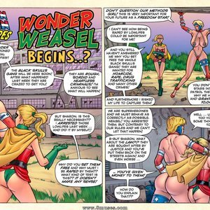 Wonder Weasel Begins SuperHeroineComixxx