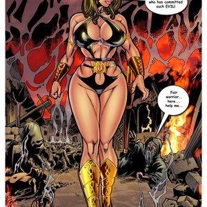 SuperHeroineComixxx Xera - Amazon Princess - Morganthos gallery image-002