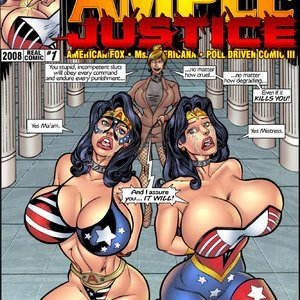 Ample Justice – Issue 1 Superheroine Central Comics